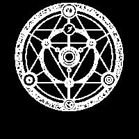 Runen Geometrie Runenkreis Alchemie Dreieck
