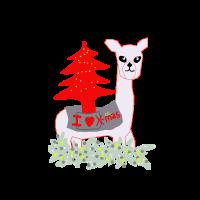 Lama loves x-mas