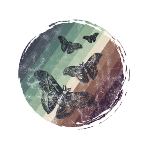 Motte Insekt Schmetterling Retro Geschenkidee