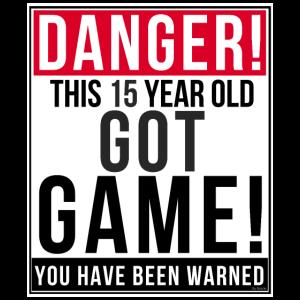 Gefahr dieses 15-jährige Got Game