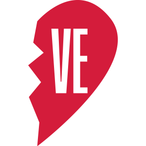 ve - love right side couple shirt
