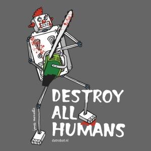 Dat Robot: Destroy Series Killer Clown Dark