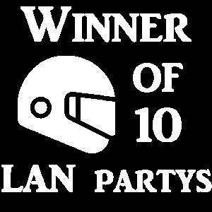 Winner of 10 Lans Blank