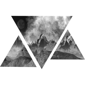 Dreieck | Gebirge | Landschaft | Geschenkidee