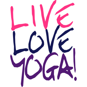 Live Love Yoga! | Yoga Shirts bedrucken