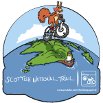 The Biking Squirrel: Scottish National Trail