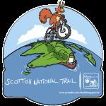 The Biking Squirrel: Scottish National Trail