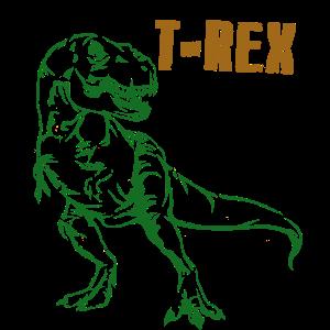 Tyrannosaurus T-Rex Dino Dinosaurier Geschenk