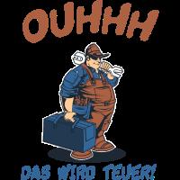 Handwerker Sprüche lustig Klempner