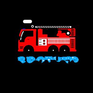Kleiner Bruder Little Feuerwehr Lastwagen Geschenk