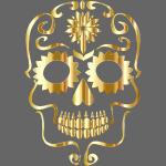 Koszulka Złota czaszka