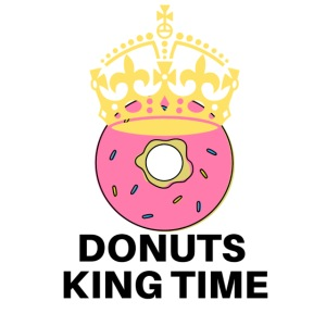 Mug Desing donuts king-Tazza Donuts King