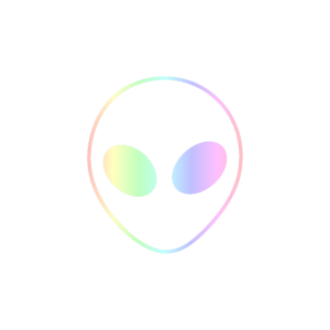 Alien | Weltraum Zeichen Ausserirdisch Geschenk