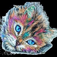 PinkChatPunk fantastisches Tier