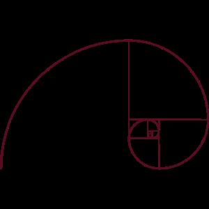 Goldene Spirale, Schnitt, Phi, Fibonacci, Physik