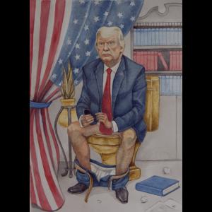 Trump Toilet Tweets - Das Porträt
