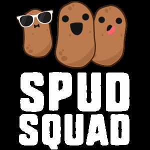 Spud Squad Funny Potato TShirt Freundenteam