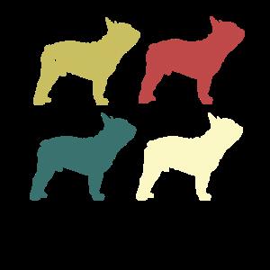 Retro Frenchie französische Bulldoggen-Liebhaber-Geschenke