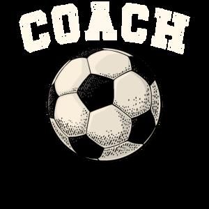 Fussball Coach T-Shirt