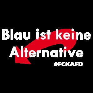 Blau ist keine Alternative - Anti AFD Design