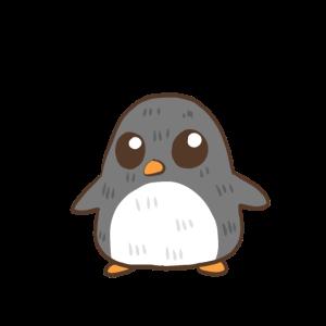 Hungriger Pummel Pinguin Dicker Pinguin Geschenk