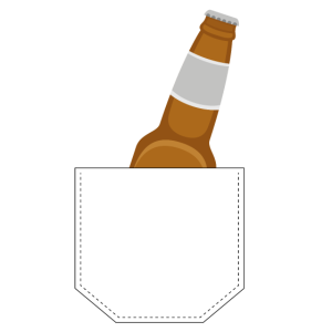 Brusttasche Bier Geschenk Idee