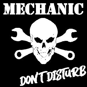 mechaniker nicht stören