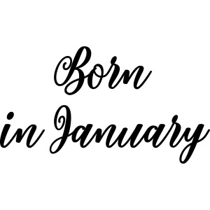 Born in