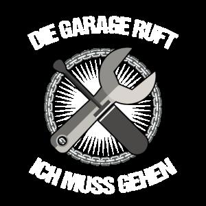 Die Garage Ruft Hobby Werkeln Basteln Werkzeug