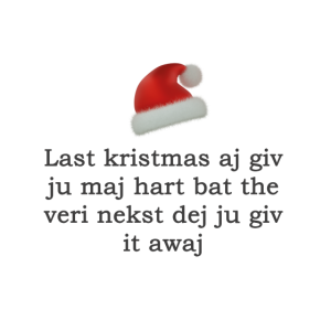 Last kristmas