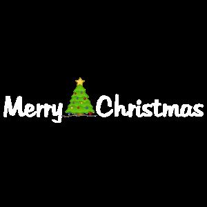 Merry Christmas - Frohe Weihnachten - Tannenbaum