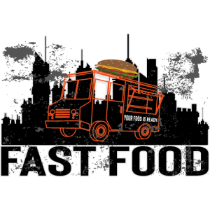 Fast food,Burger, Design, Food truck, Burger truck