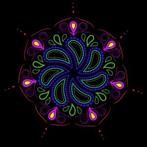 Mandala bunt