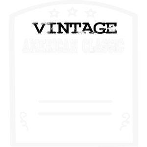 Muscle Car Patch in weiß