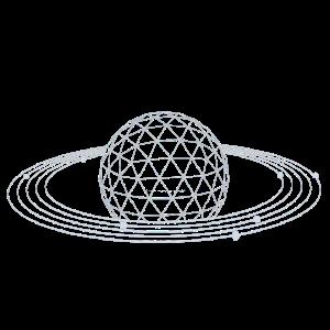 Planet Umlaufbahn Proton Elektron