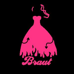 JGA - Braut security - Bride - Team - Teufel 2C