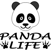 Panda Leben Pandabär Kopf Geschenk idee