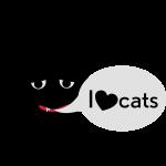 schraeger fuerst, I love cats