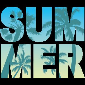 Sommer Palmen Design