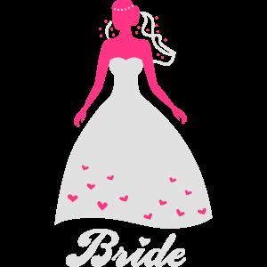 Bride - Braut - Hochzeit - JGA - Team - Crew - 2C