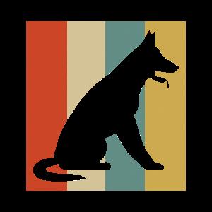 German Shepherd Hunde Geschenk Hund Streicheln