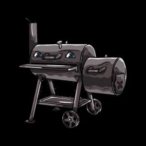 BBQ Smoker Smoken Grillen Griller Grill Geschenk