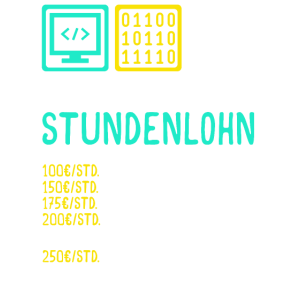 Programmier Stundenlohn