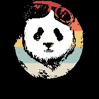 Pandabär Panda Tierliebhaber Shirt