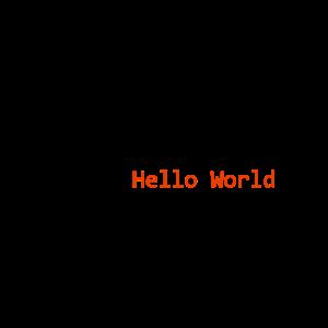 Hello World Nerd Babybody