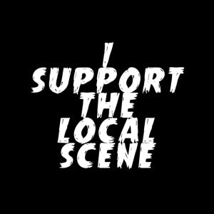Ich unterstütze die lokale Szene