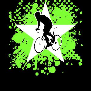 Rennrad mit Stern