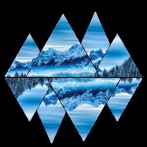 Berge eis und schnee gletscher geometrie Natur