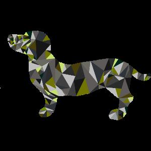 Camouflage, Dackel, Hund, Geschenkidee