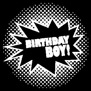 Birthday Boy Geburtstagskind Bub Mann